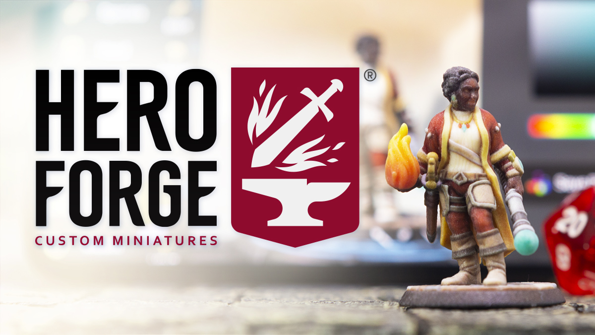 graphic about Dnd Printable Minis known as Hero Forge Custom made Miniatures